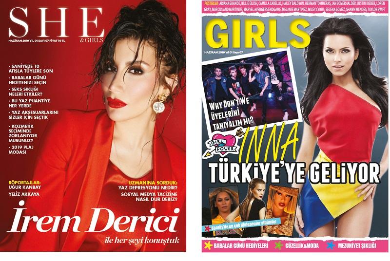 Moda Dergisi She and Girls