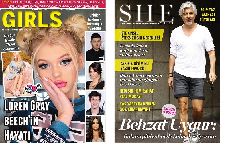 Moda ve Alışveriş Dergisi She and Girls