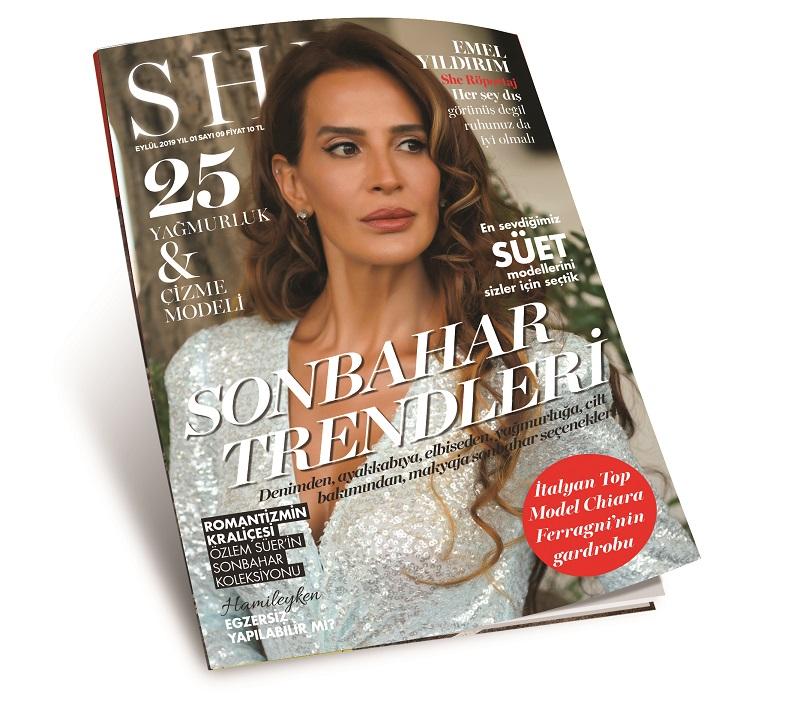 Moda Dergisi She and Girls Eylül Sayısı Çıktı