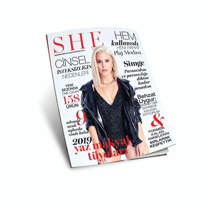Moda ve Alışveriş Dergisi She and Girls.